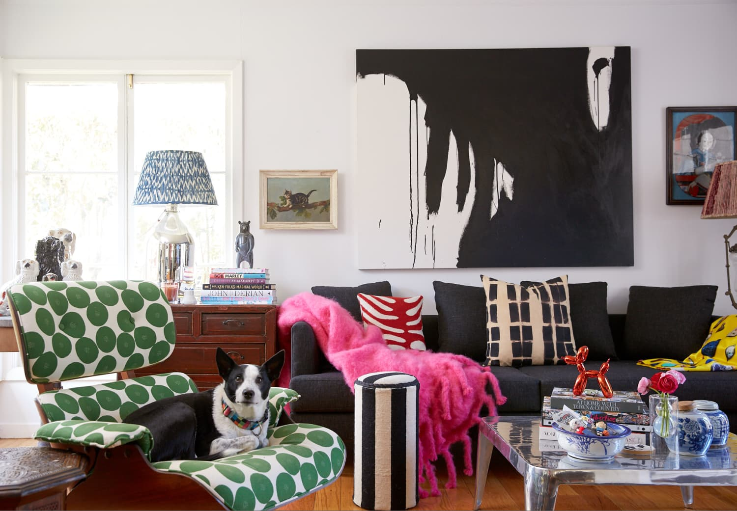 This California Home Is Eclectic Preppy Style Epitomized