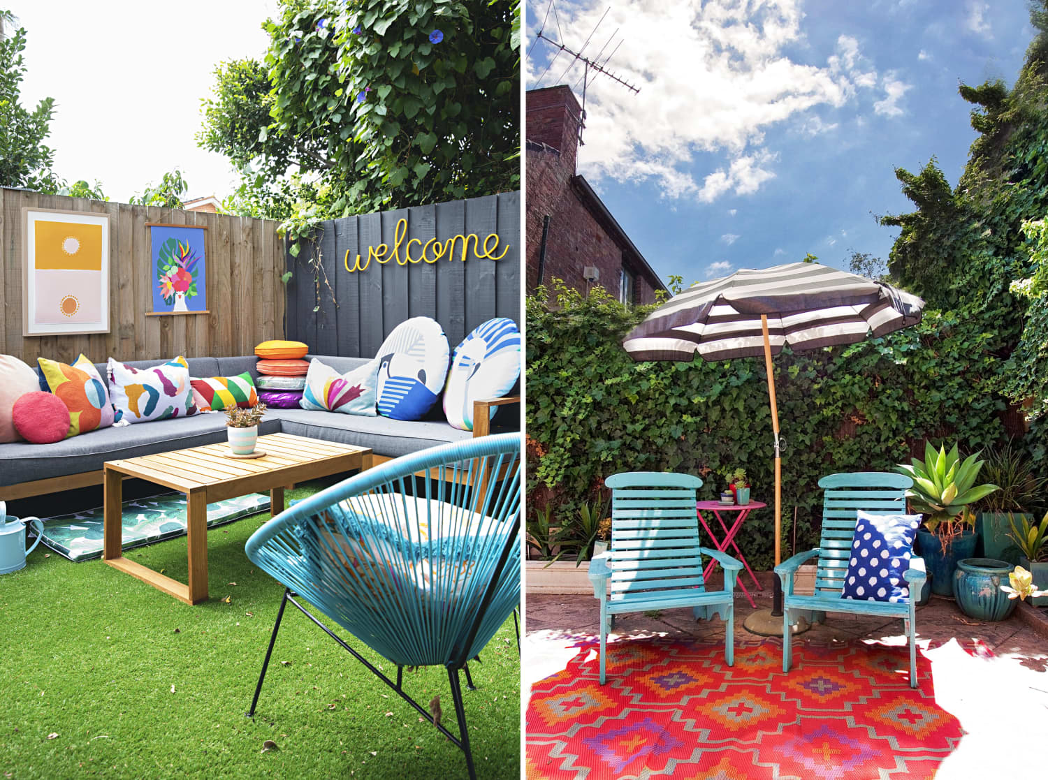 13 of the Most Colorful Outdoor Spaces We've Seen this Summer