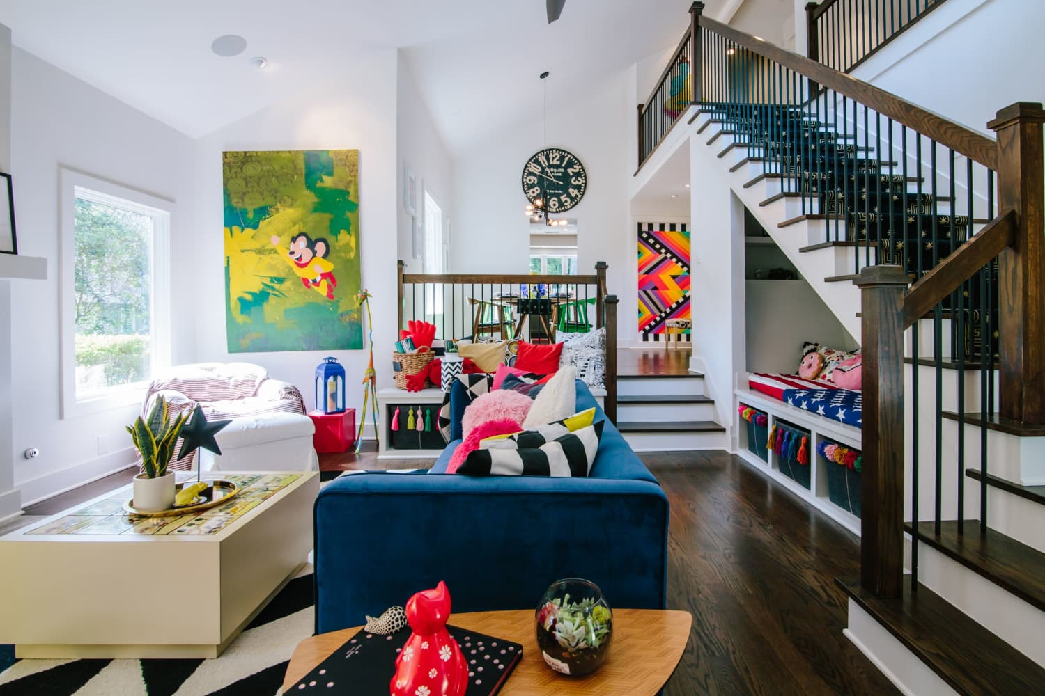 This Atlanta Home Is Big, Bold, Bright, and Filled with Art and Color