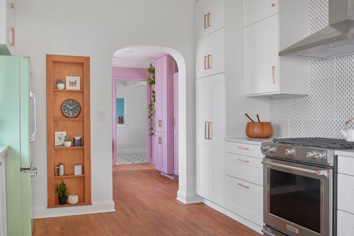 This Austin Remodel Is a Pastel Dream