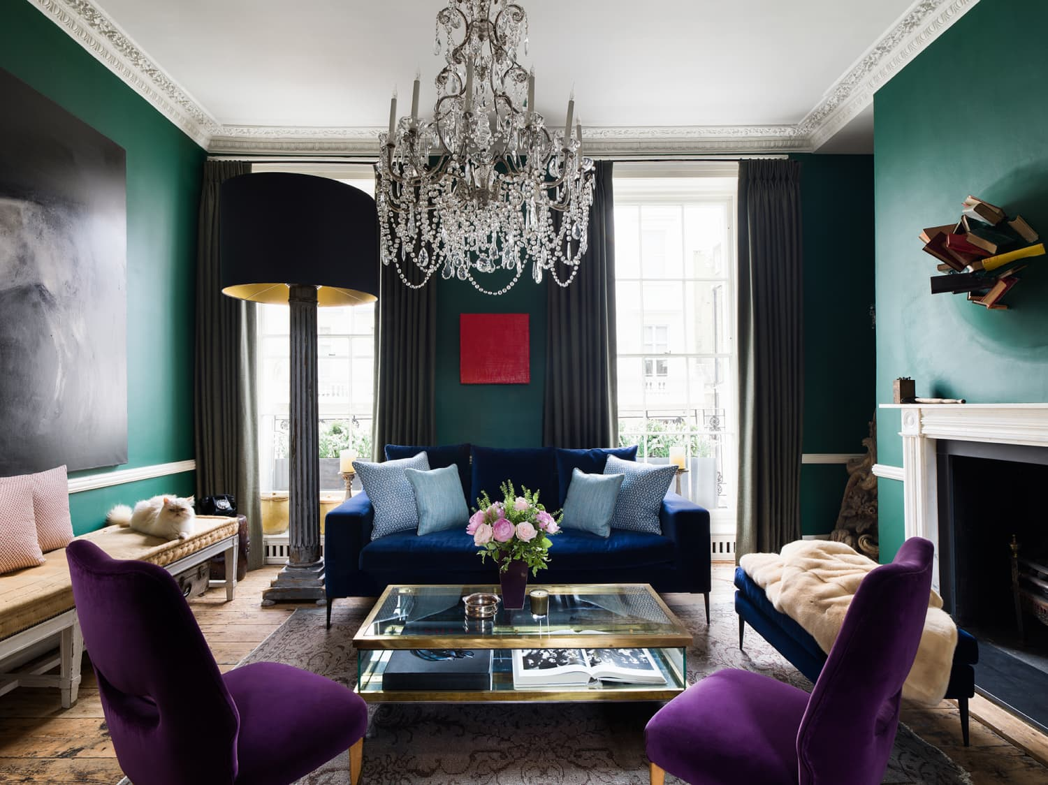 A Renovated Home in London Is Full of Stunning Color Contrasts