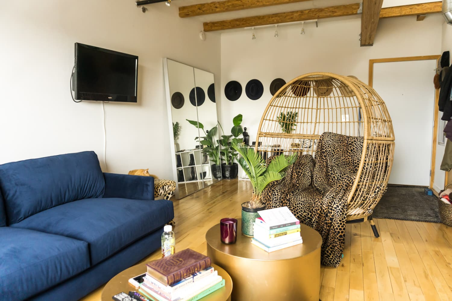 A Fashion Blogger's Loft Is Where Nature and Chic Collide