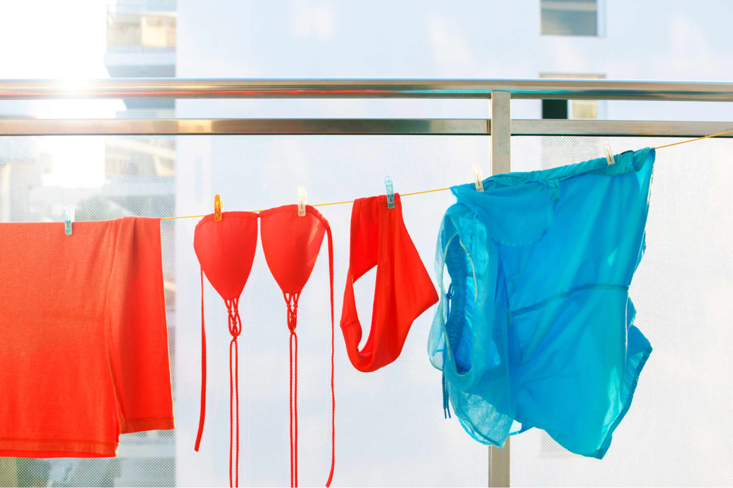There are 4 Ways to Dry a Swimsuit—But 3 of Them You'll Regret