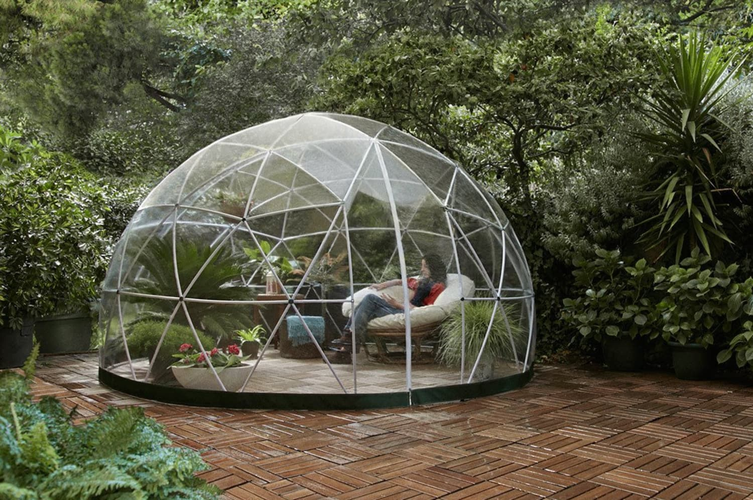 Amazon Is Selling a Garden Dome That Will Transform Your Backyard into a Private Oasis