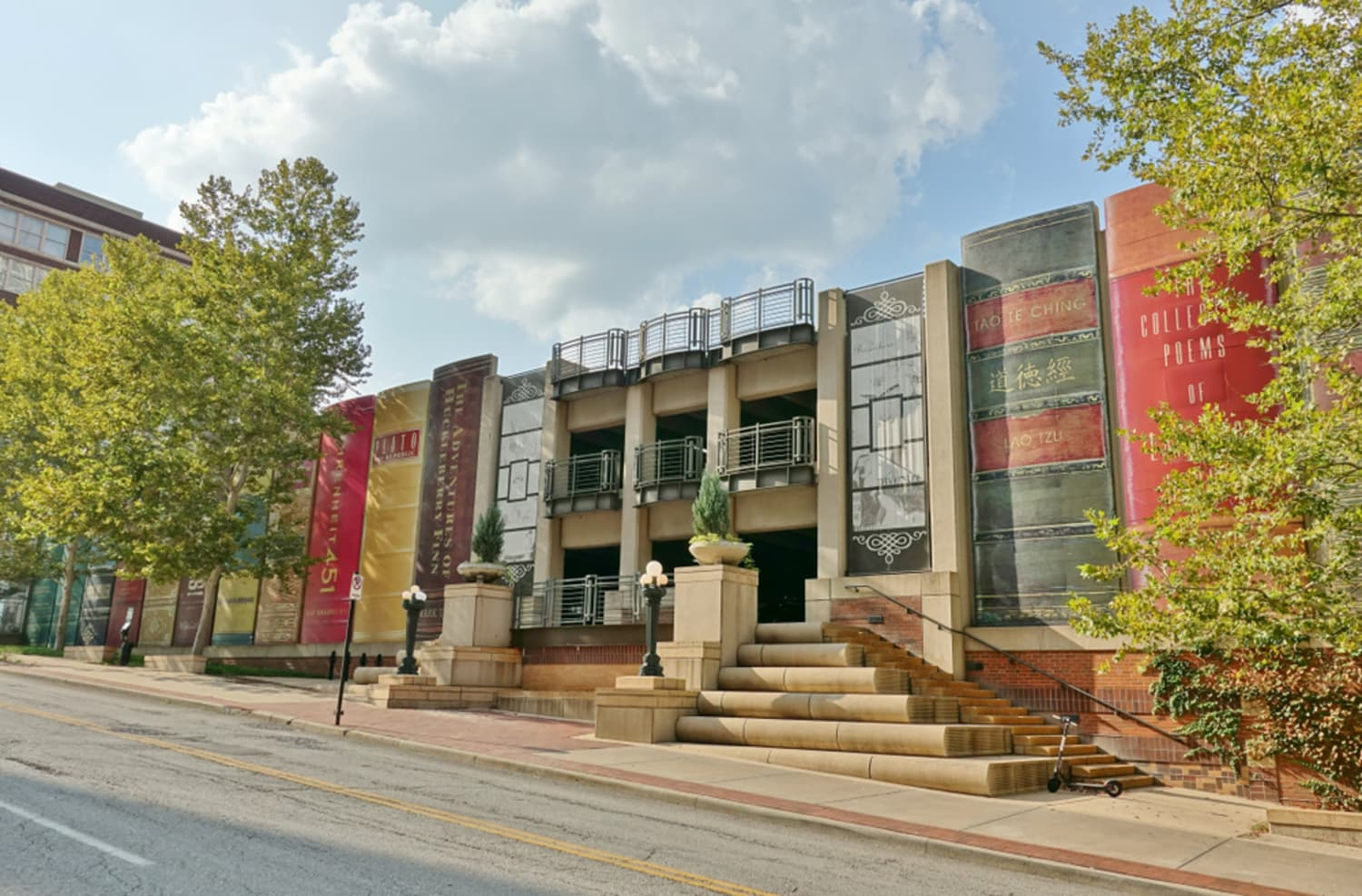 Attention, Bibliophiles: This Library Was Designed to Look Like a Bookshelf