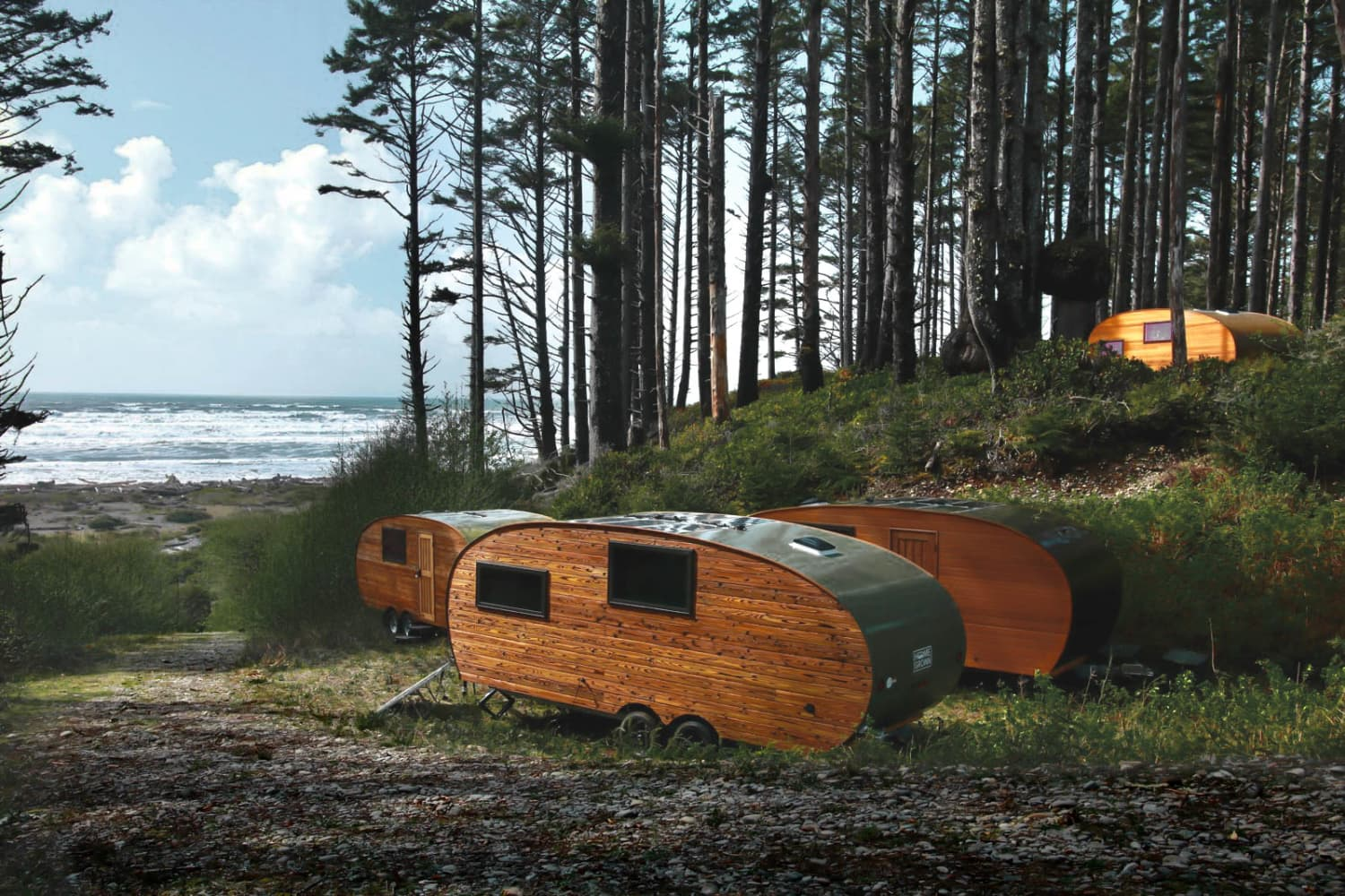 These Sustainable Tiny Campers in Washington State Are the Perfect Eco-Friendly Getaway