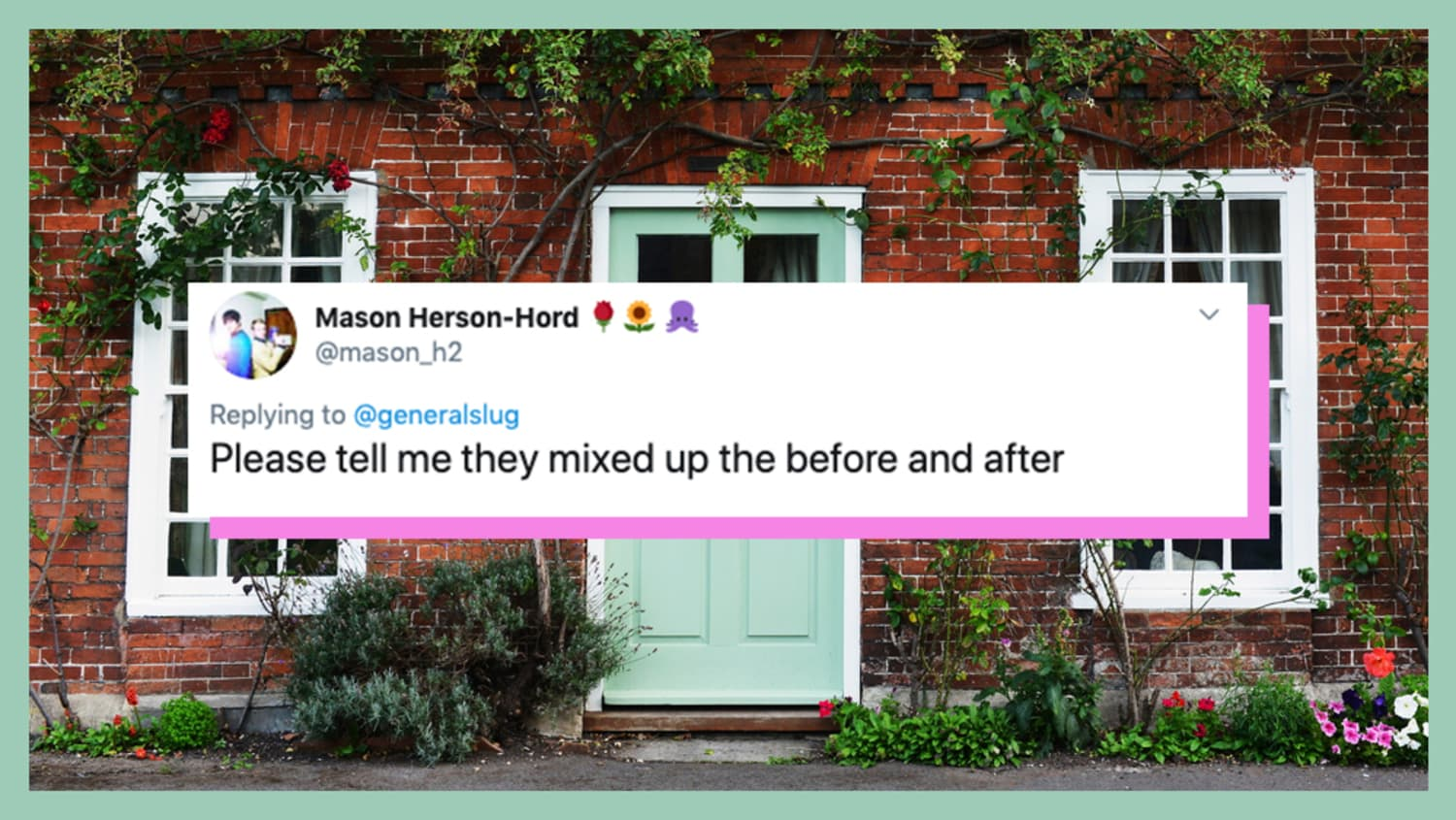 Twitter Has a Lot to Say About This Front Door Makeover