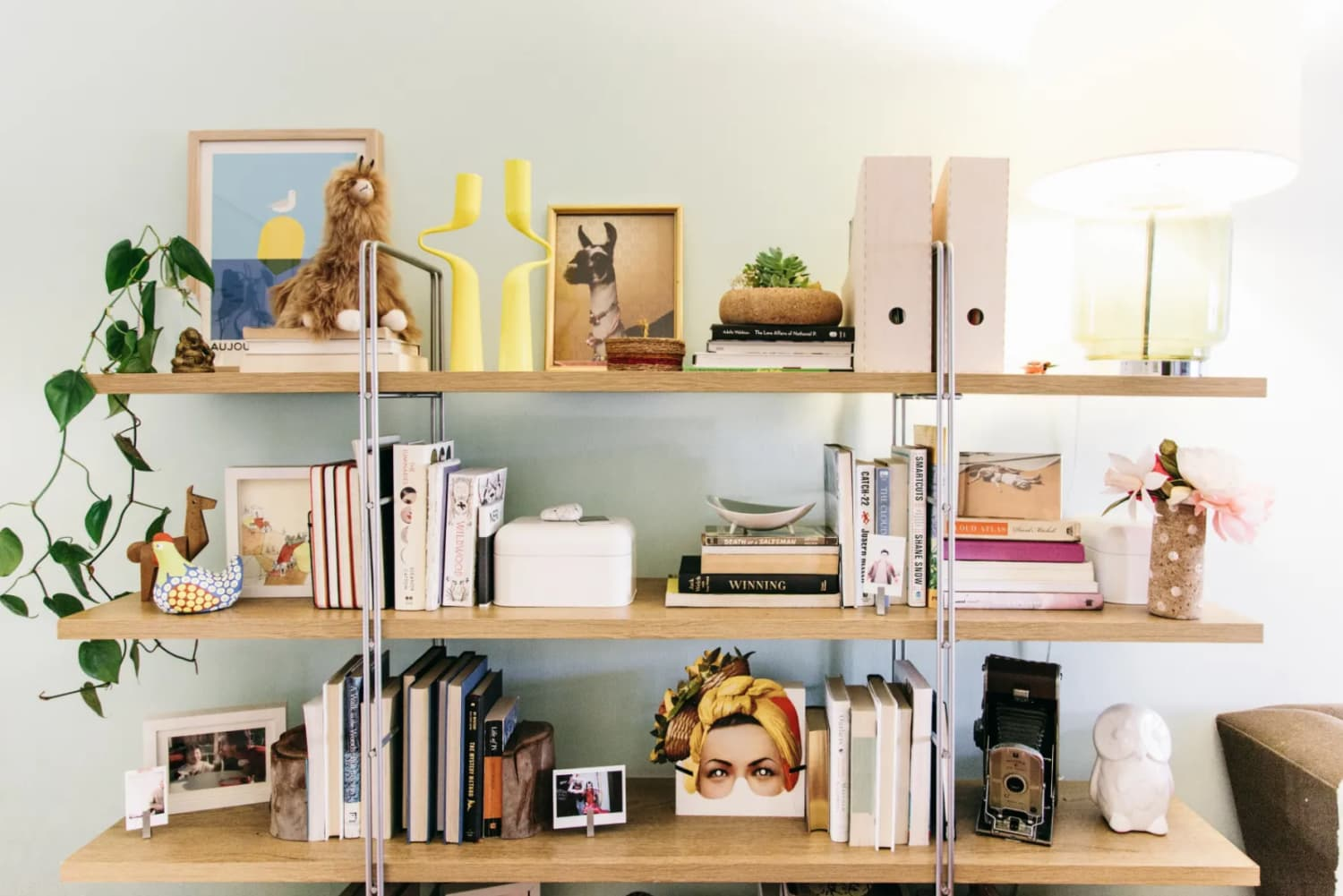 7 Fresh Ways to Display Your Fave Books