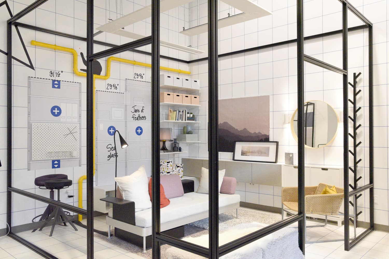 4 Style Lessons We Learned From IKEA's Latest Store