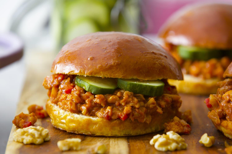 Recipe: Walnut and Cauliflower Sloppy Joes