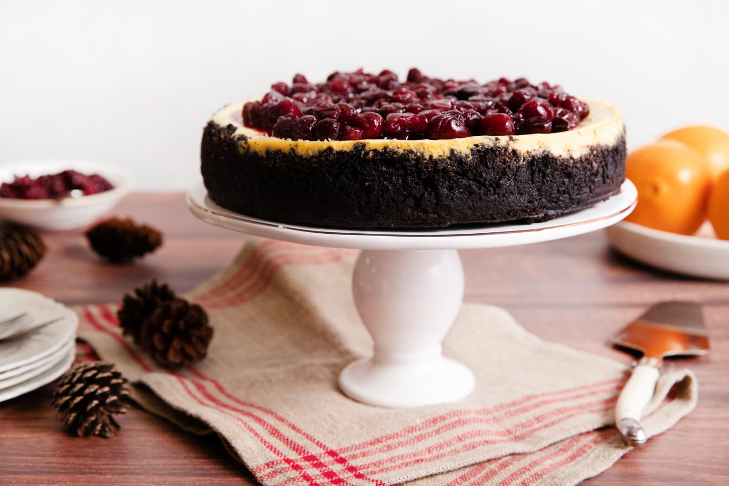 A Few Surprise Ingredients Turn Traditional Cheesecake Into an Anything-but-Ordinary Dessert