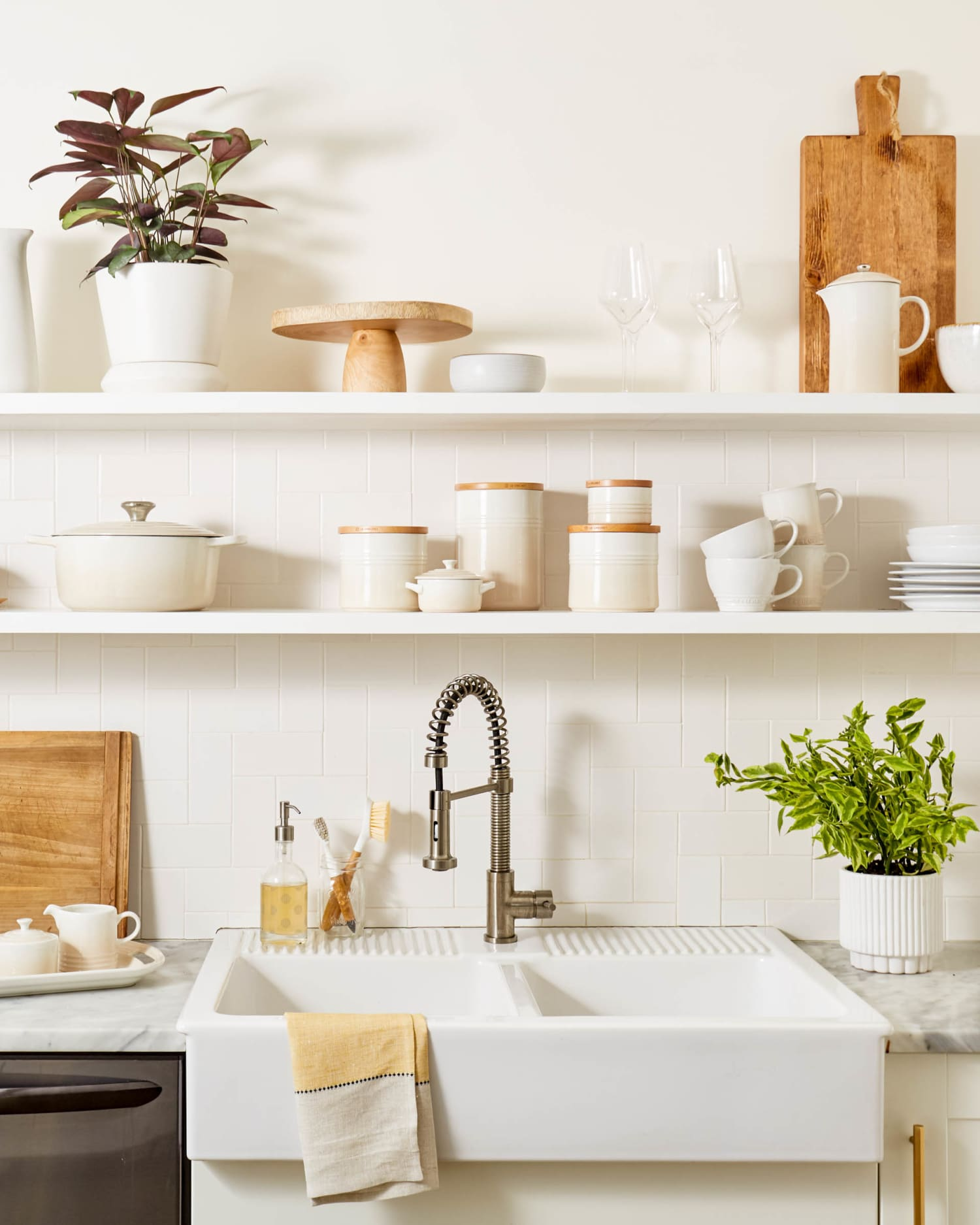 Here Are 4 Principles for Good Kitchen Design — and the New Color from Le Creuset that Illustrates Them