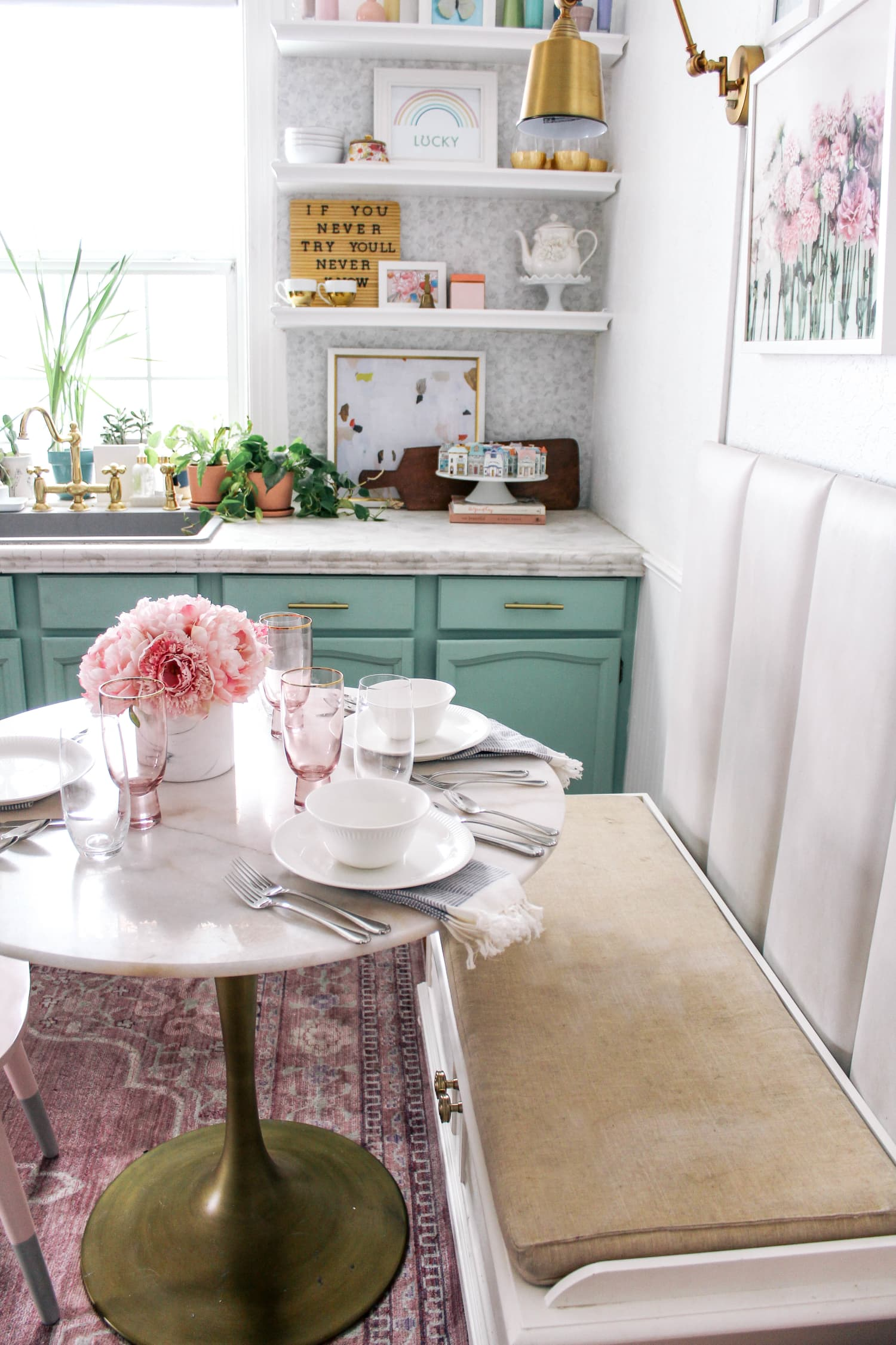 See How Two Moms Set the Table With One Perfect White Dinnerware Set