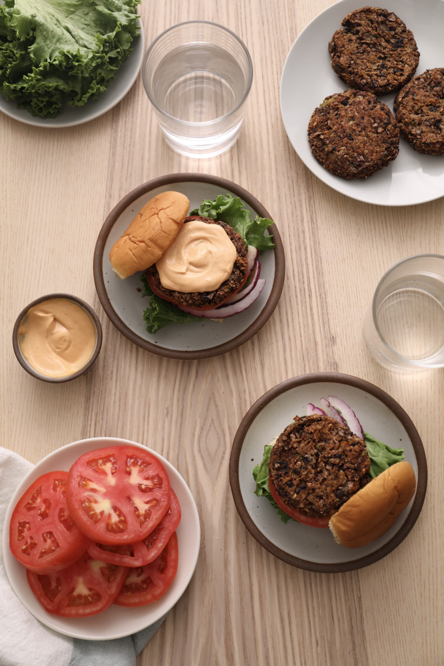 This Is the Black Bean-Mushroom Burger Recipe You've Been Waiting For