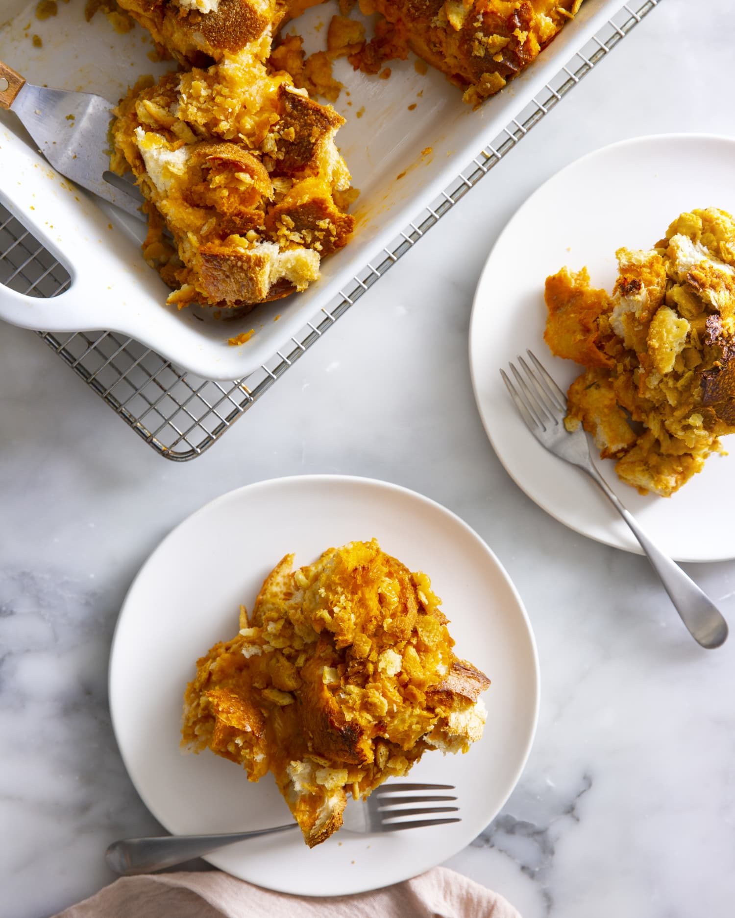 Savory Grilled Cheese French Toast Bake Is a Modern Brunch Favorite