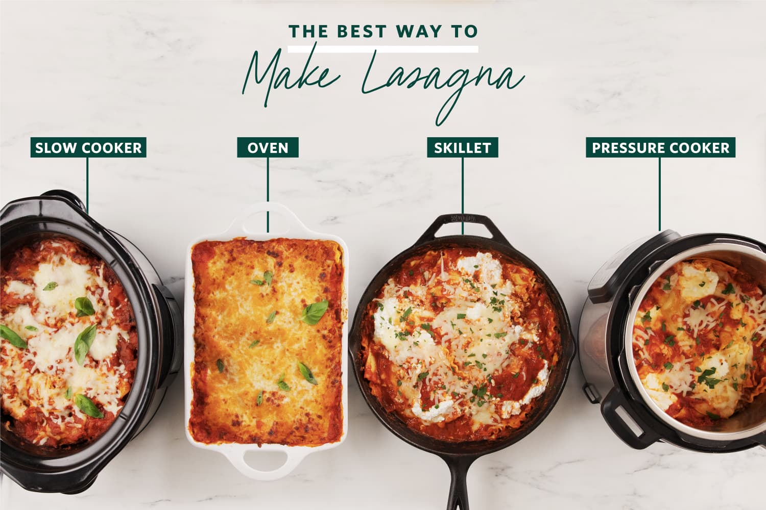 We Tried 4 Different Ways to Make Lasagna and Found a Definite Winner