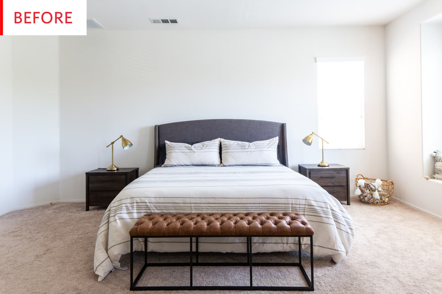 Before & After: Darina Breaks the Rules with a Stylish Bedroom Paint Project