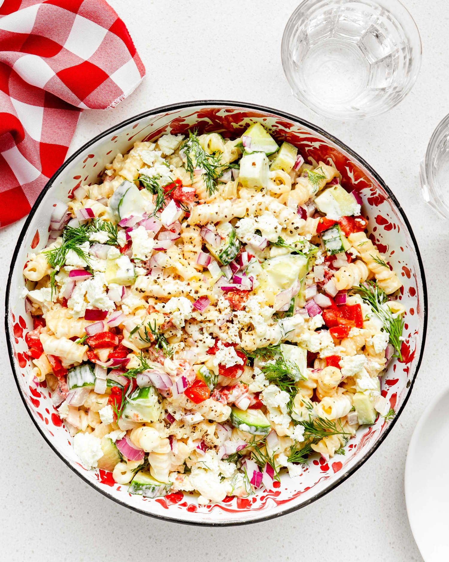 A Light and Lemony Pasta Salad for a Perfect Summer Day