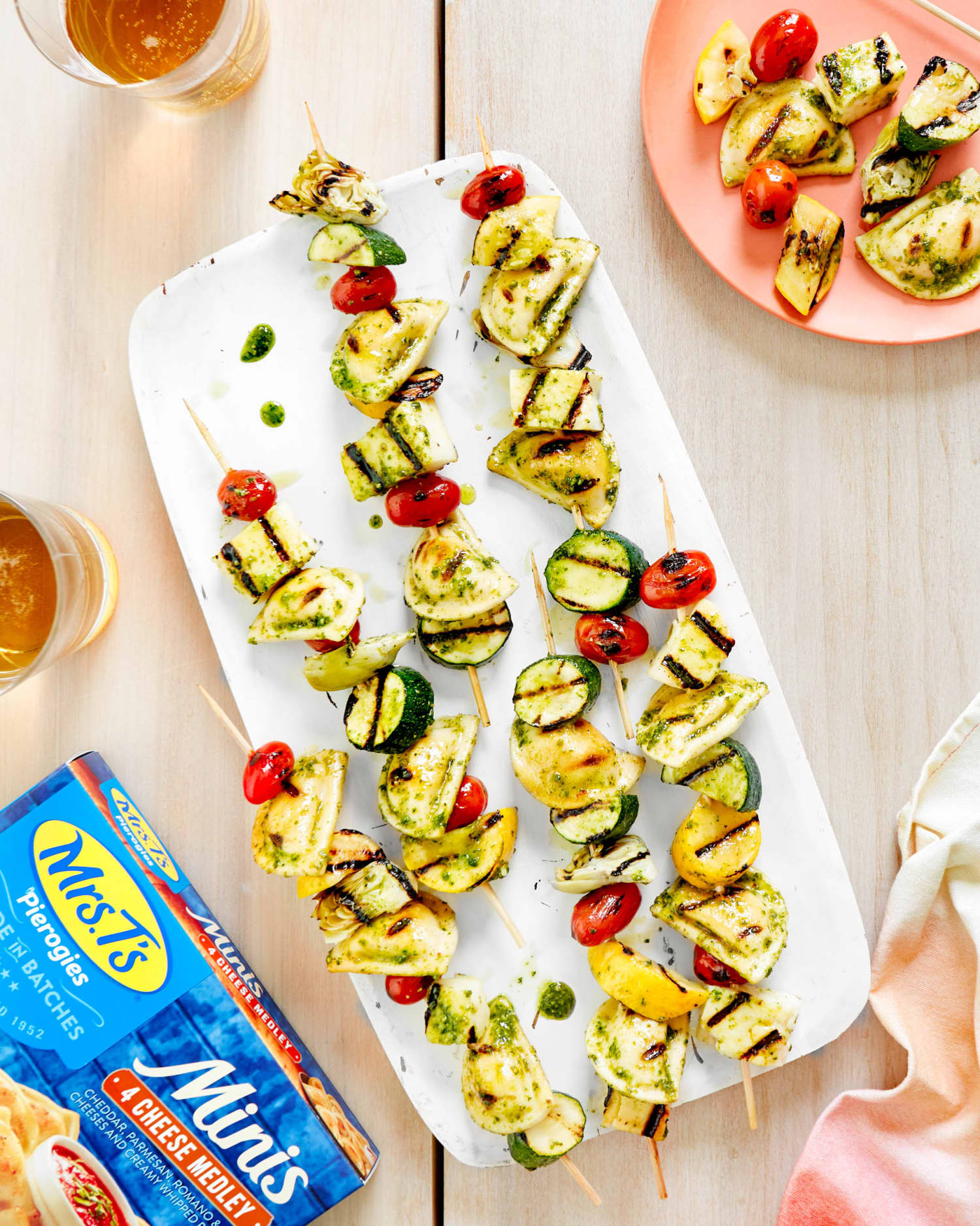 Recipe: 2 Ideas for Easy Grilled Mini Pierogy Kebabs