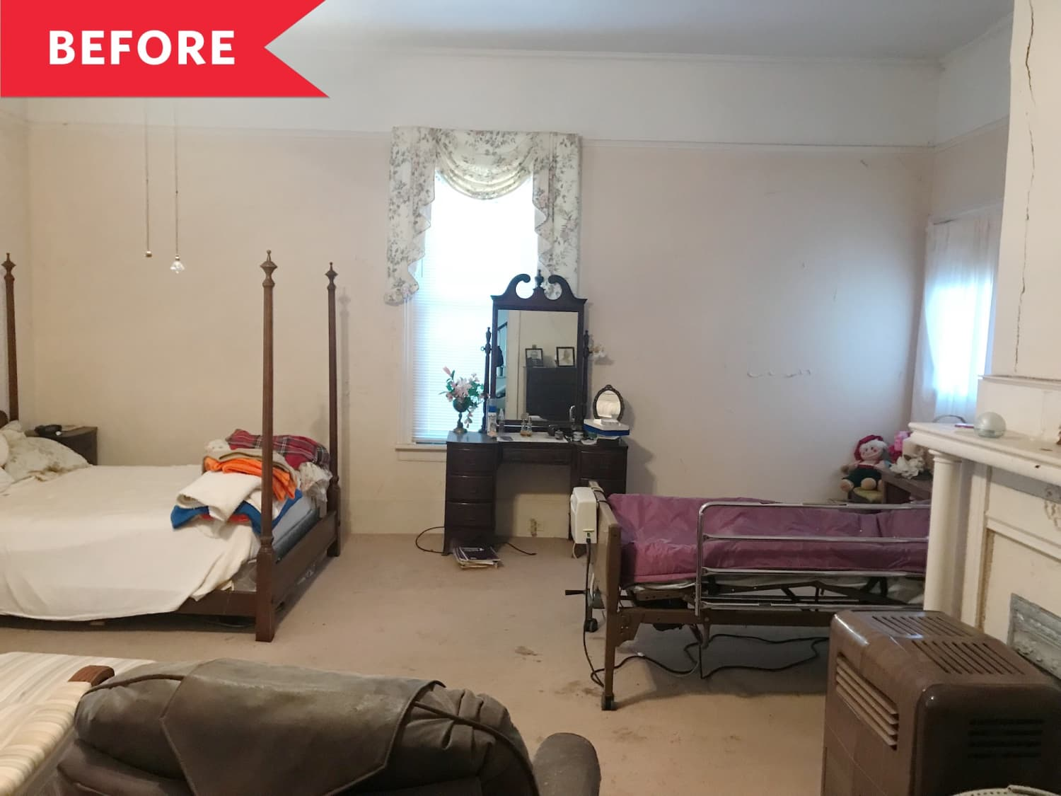 Before and After: A 119-Year-Old Bedroom Gets Its Groove Back