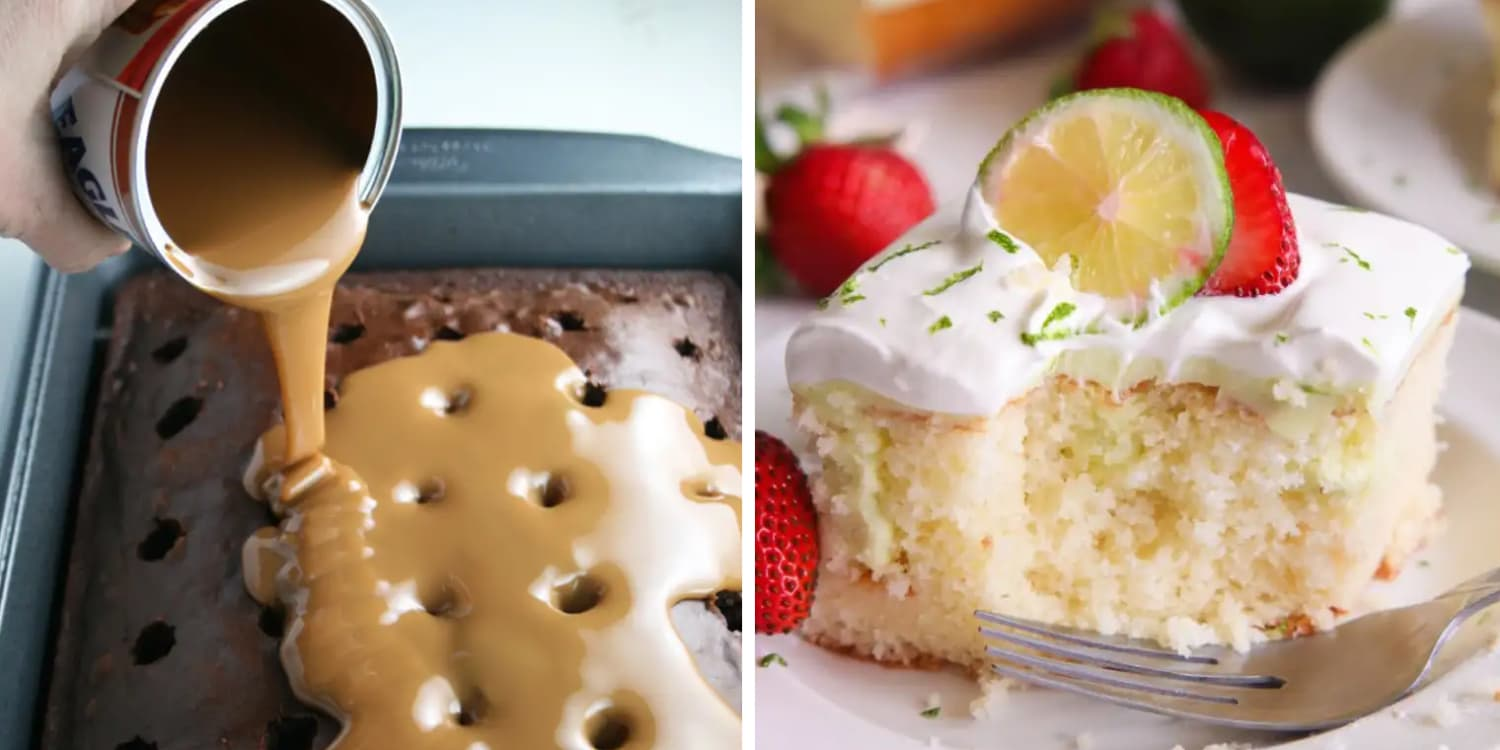 10 Ridiculously Easy Poke Cake Recipes