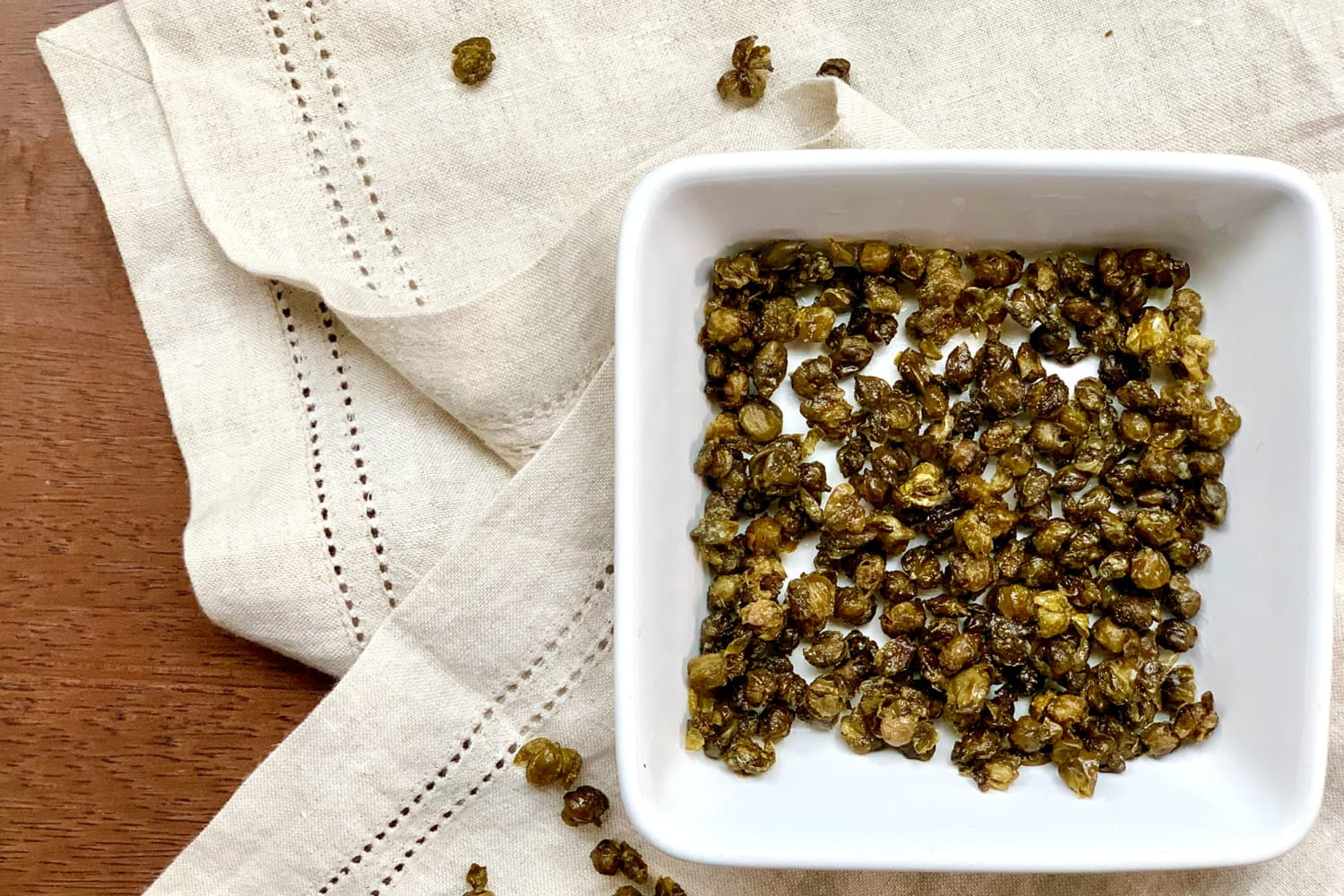 Fried Capers Are the Magical Flavor Sprinkles Your Meal Needs