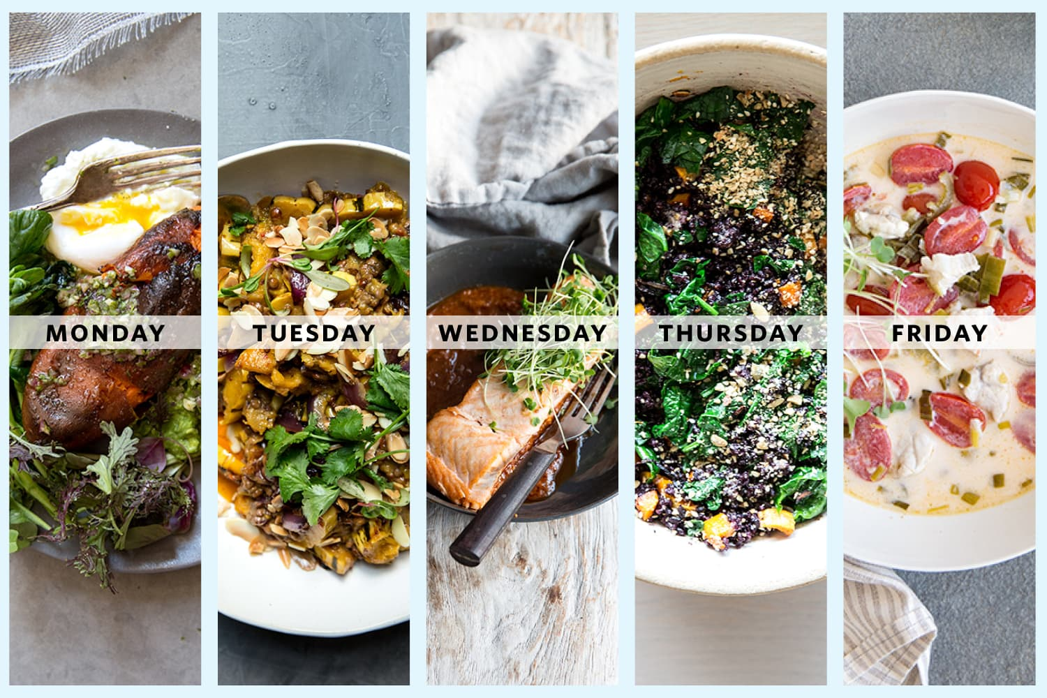 A Week of Pescatarian Dinners from Jodi Moreno