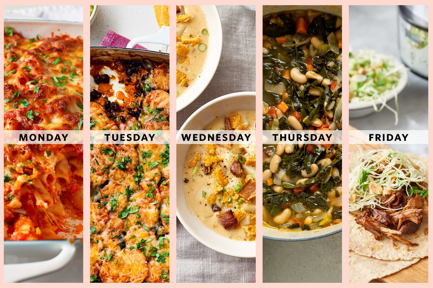 5 Big-Batch, Family-Friendly Dinners for the Week Ahead