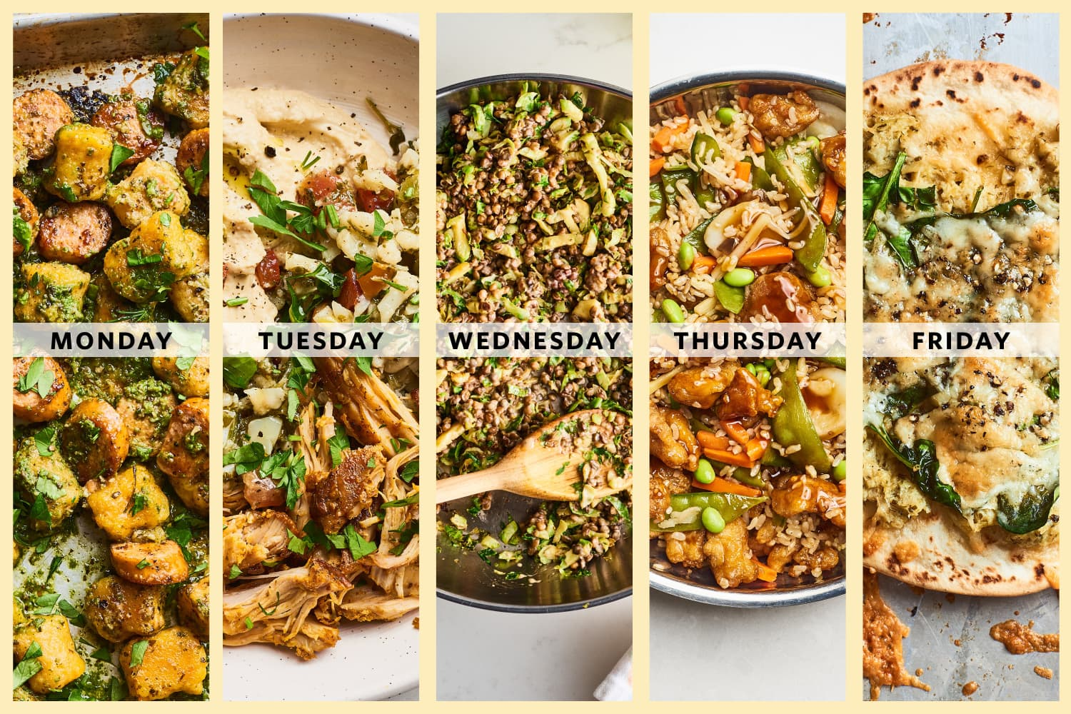 A Week of 5-Ingredient Trader Joe's Dinners