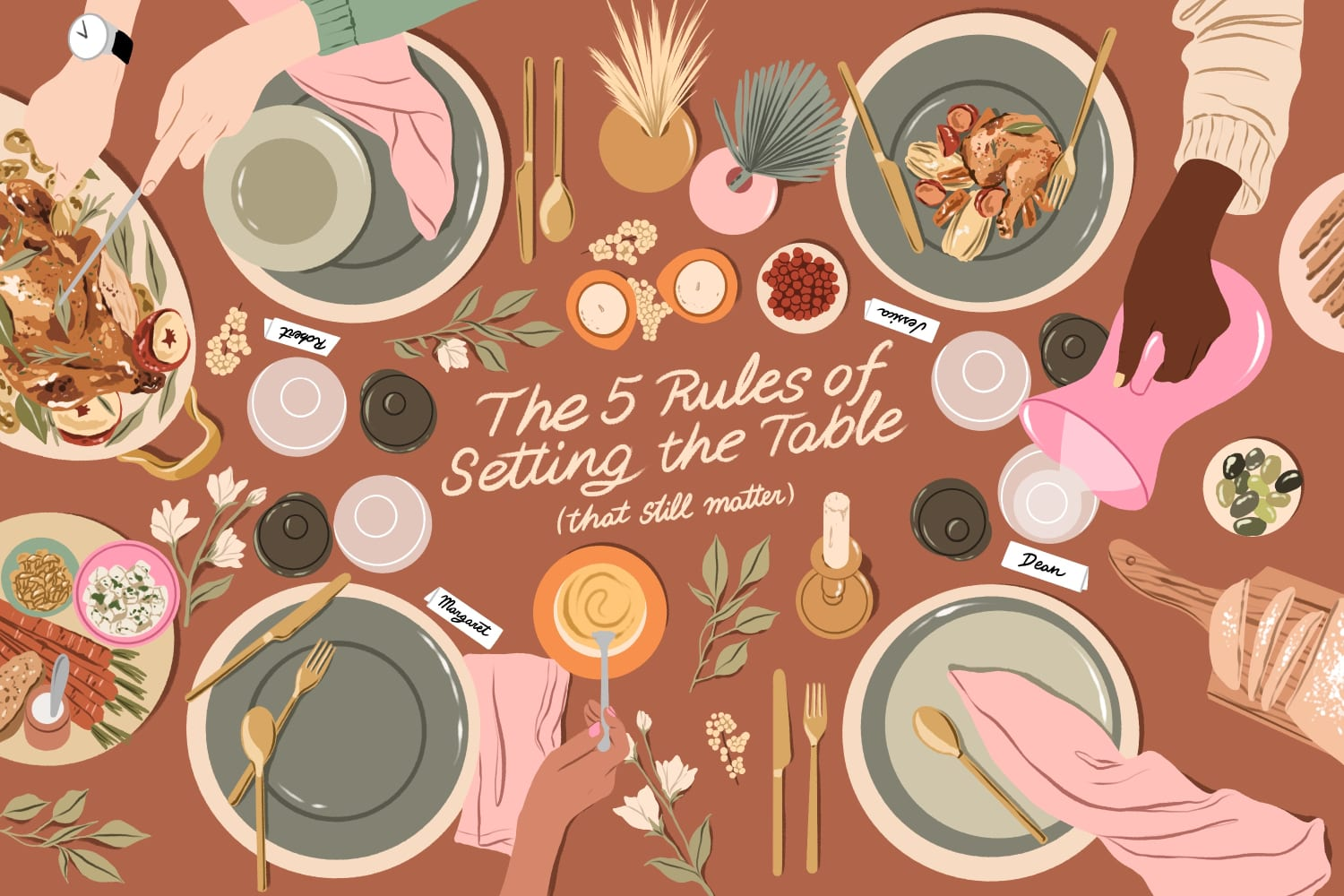 The 5 Rules That Still Really Matter When It Comes to Setting the Table