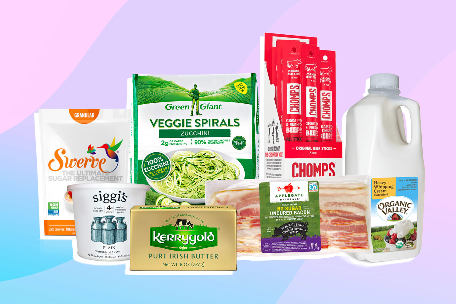 30 Essential Keto-Friendly Groceries To Stock Up On