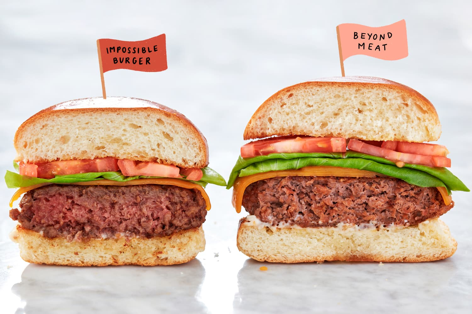 We Pitted Beyond Beef Against Impossible Burger in a Few Different Taste Tests