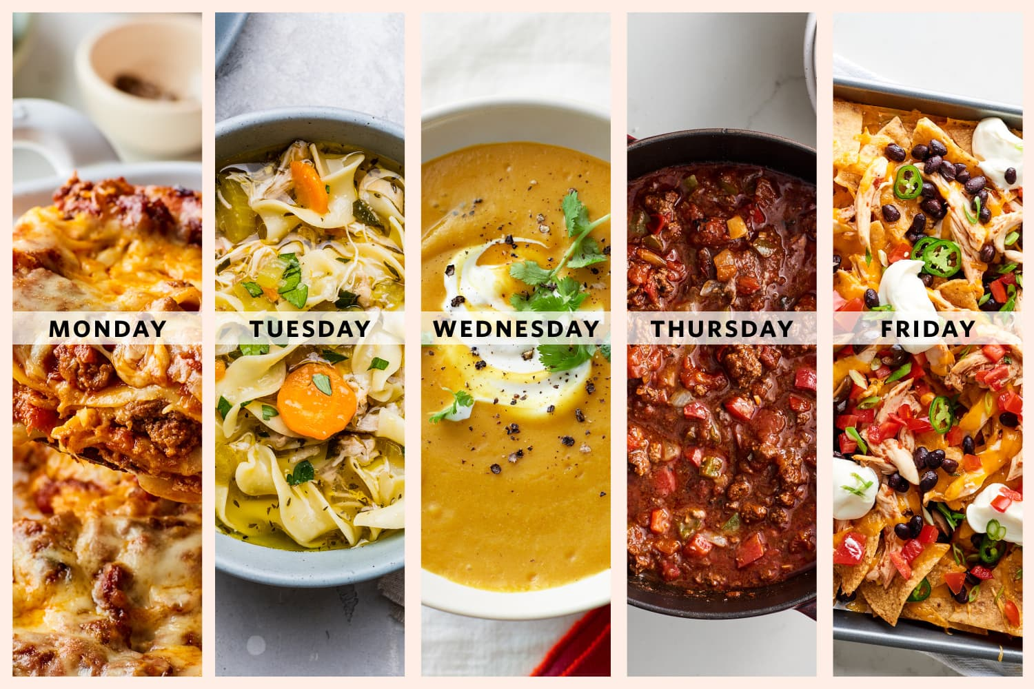 6 Weeks of Cozy Winter Meal Plans