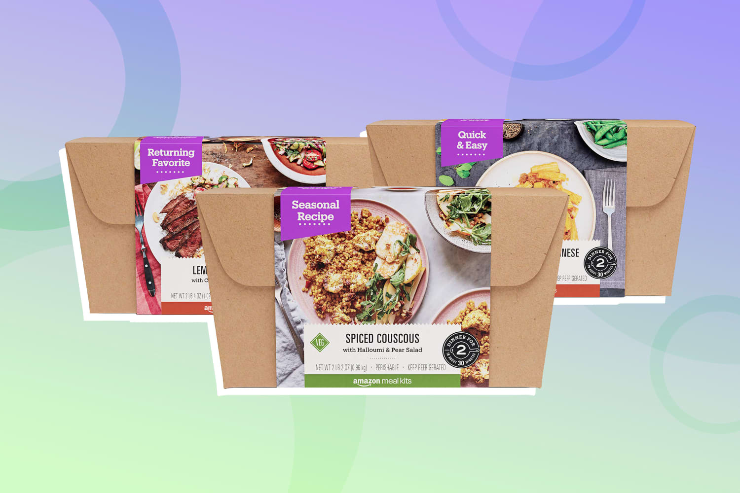 I Tried a Week's Worth of Amazon Meal Kits and Here's What I Thought