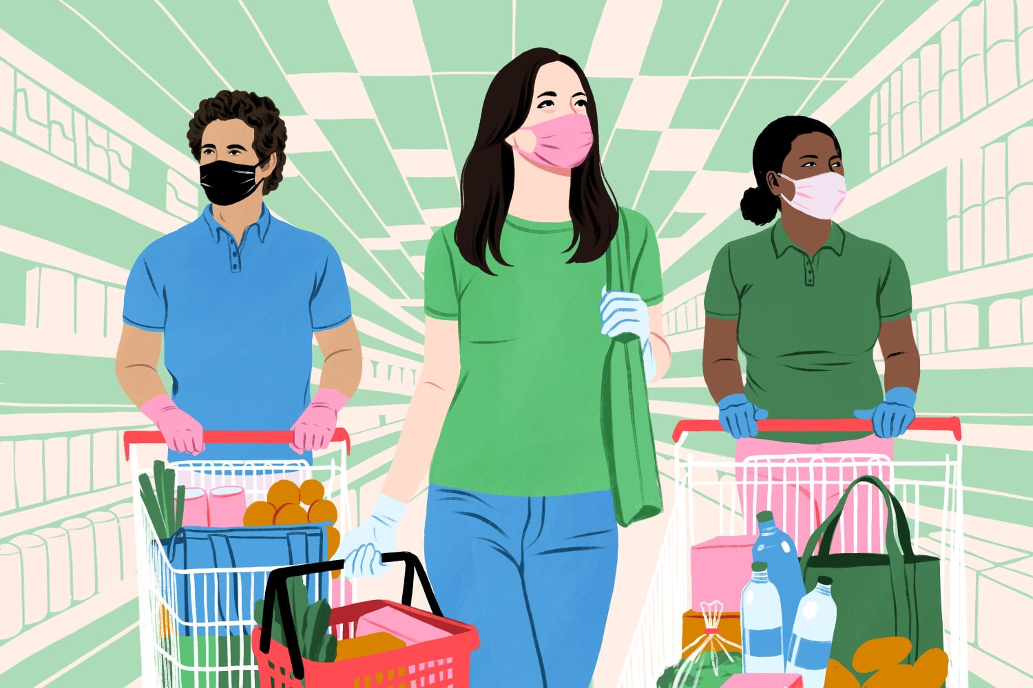 Bad Pay, Long Hours, and a Little Hope: How Instacart Shoppers Feel About Their Jobs Right Now