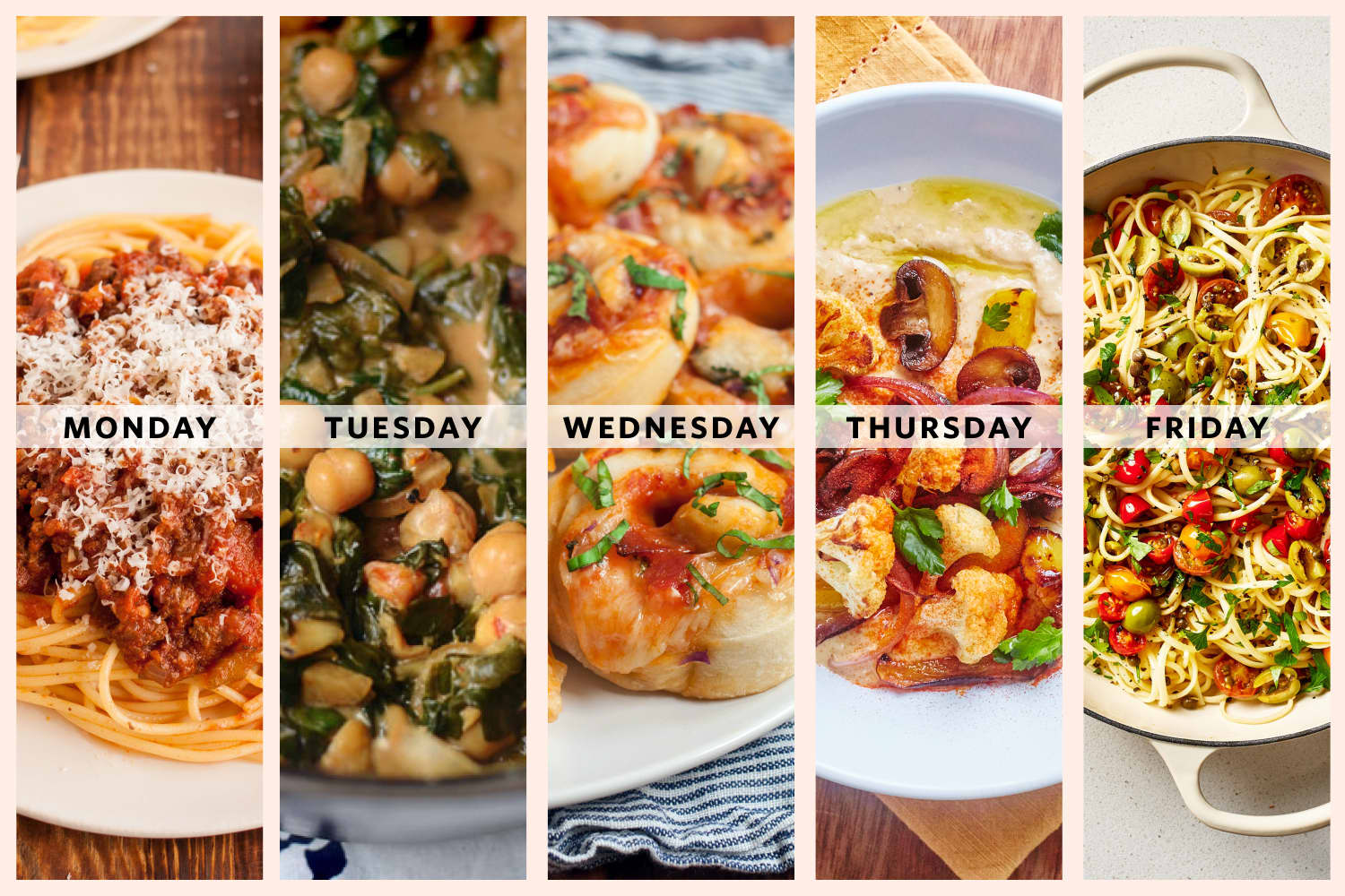 A Week of Make-Ahead Family Dinners (It Includes Pizza Rolls!)