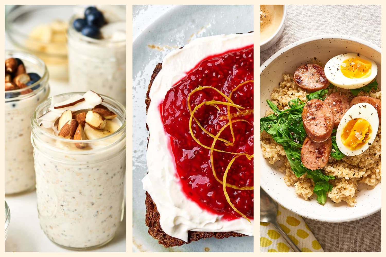 3 High-Protein Make-Ahead Breakfast Ideas