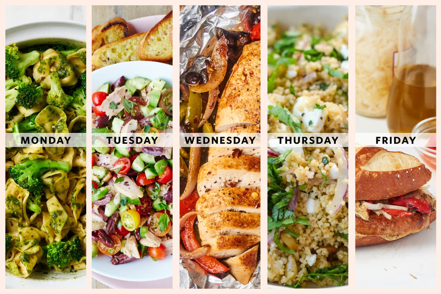A Week of Lazy Summer Dinners Because I Just Don't Feel Like Cooking