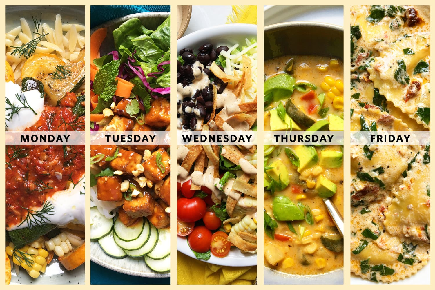 5 Must-Make Vegetarian Dinners from Supper with Michelle