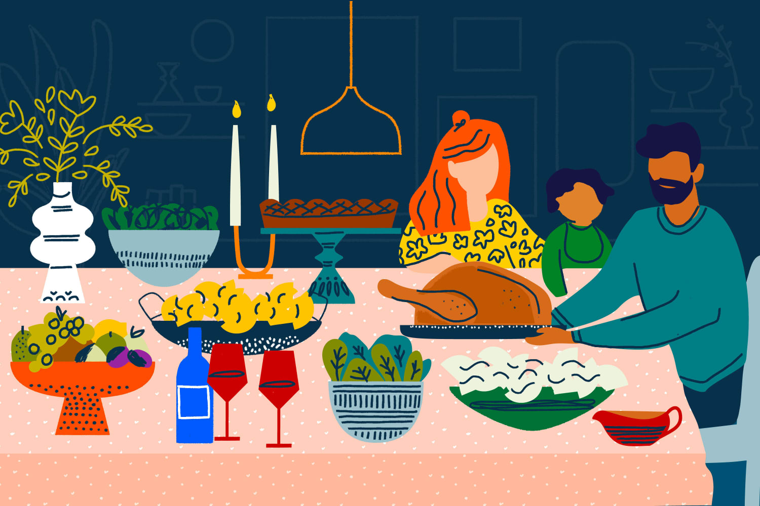 The New Rules of Holiday Gathering: Thanksgiving Dinner in a Garage, Leaving Cookies on Doorsteps, and More