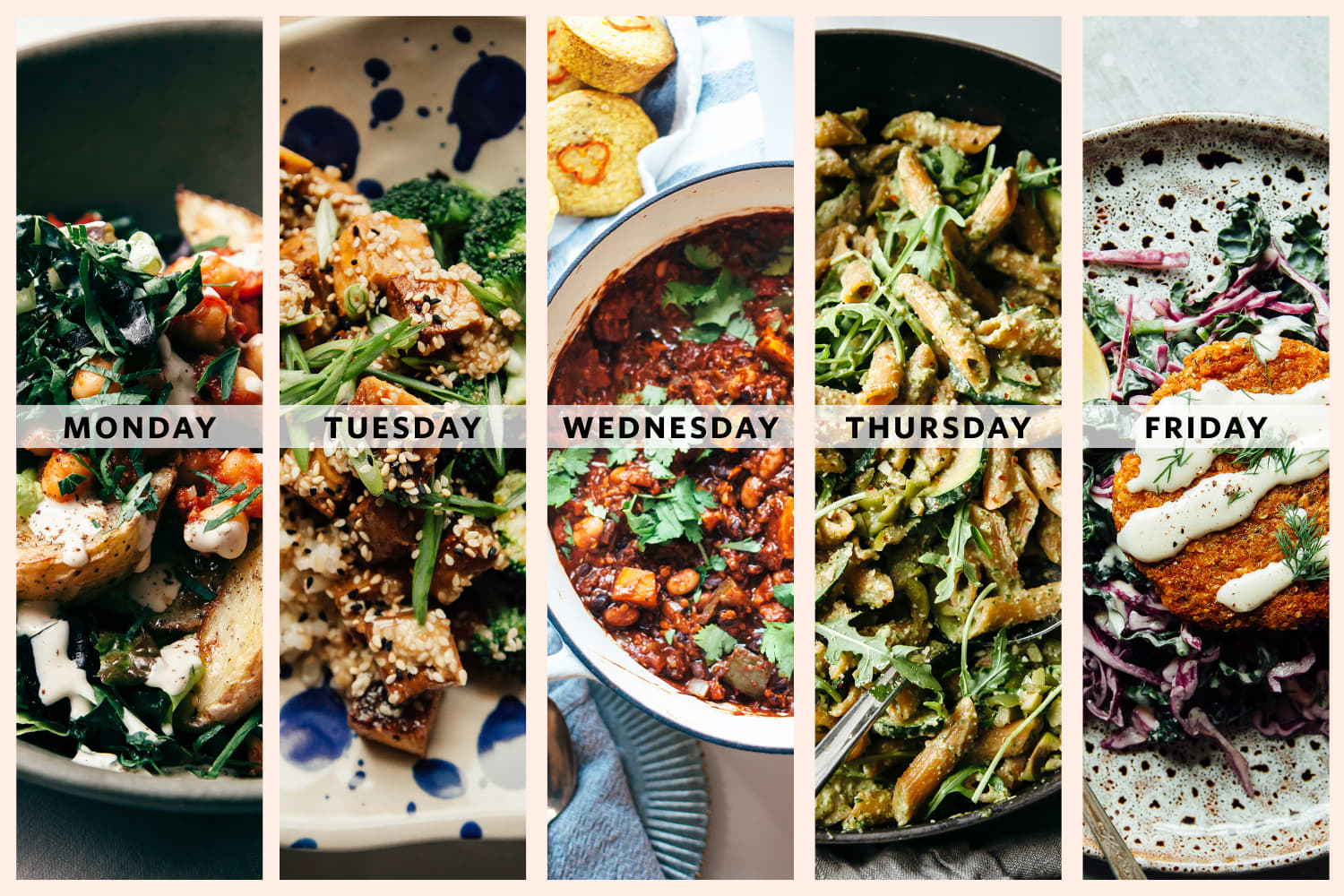 5 Simple Plant-Based Dinners from Laura Wright of The First Mess
