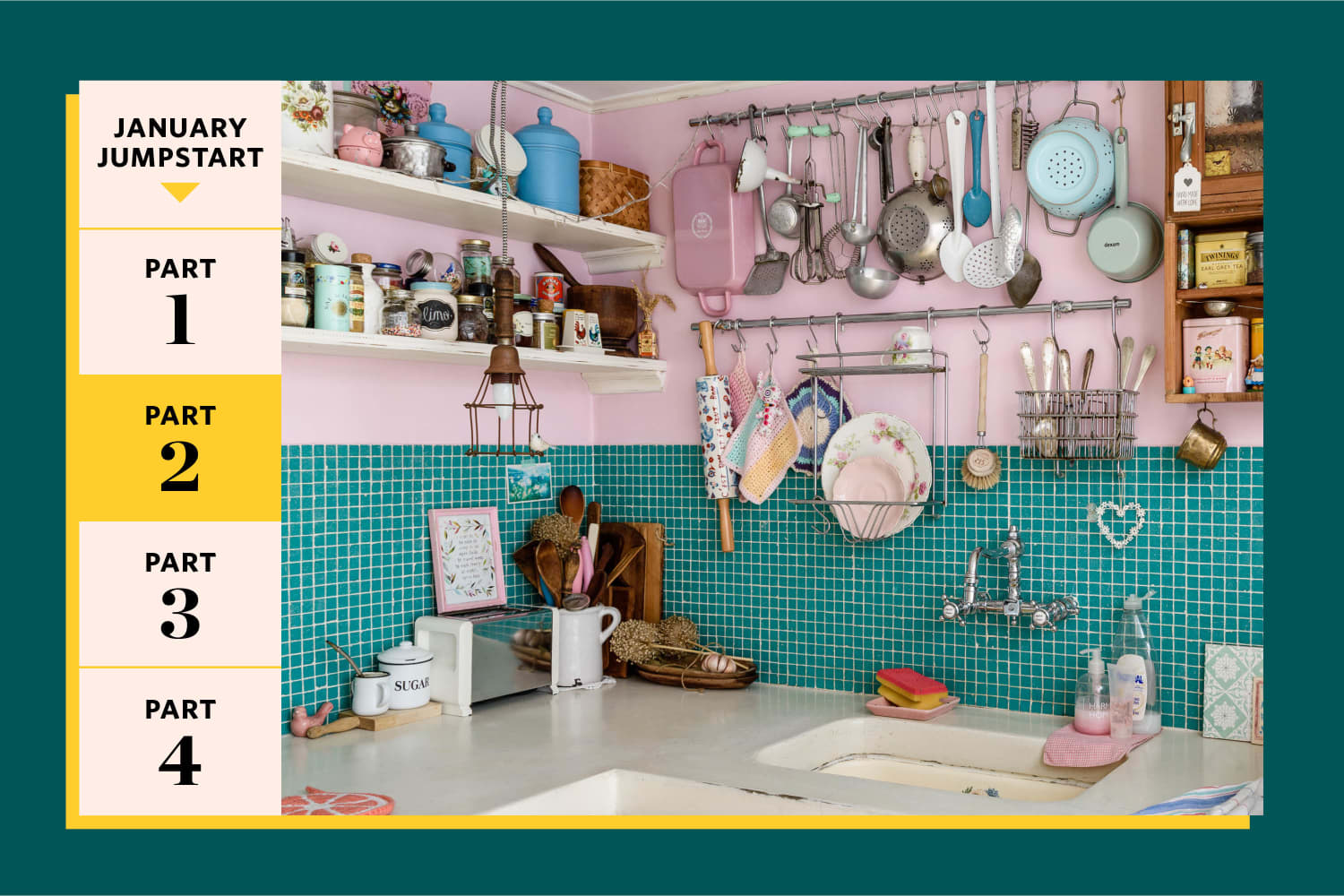 5 Easy Steps to Deal with All Your Kitchen *Stuff* Problems — Once and for All