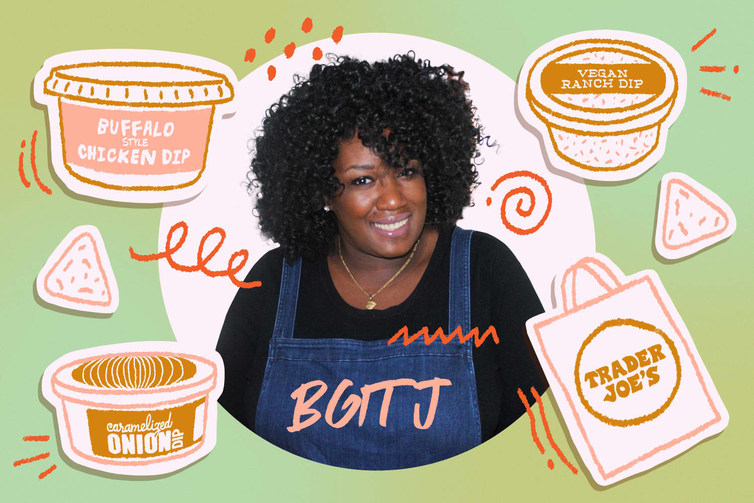 The 10 Best Dips at TJ's, According to the Creator of Black Girls in Trader Joe's