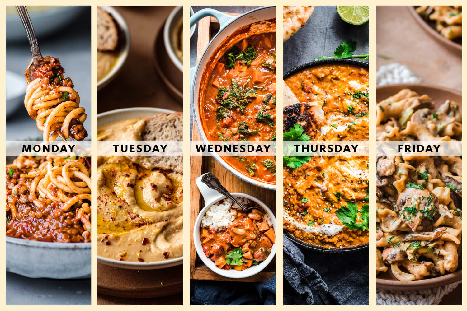 A Week of Must-Make Vegan Dinners from Nisha Vora of Rainbow Plant Life