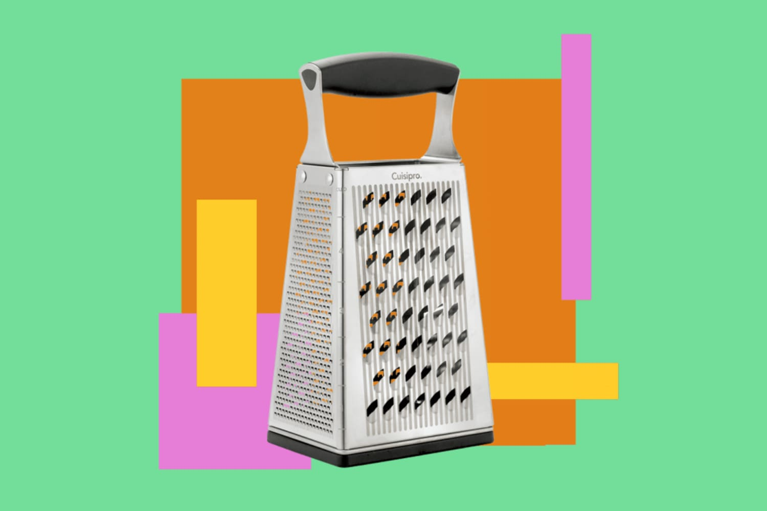 Finally, Here Is What All the Sides of Your Box Grater Are For