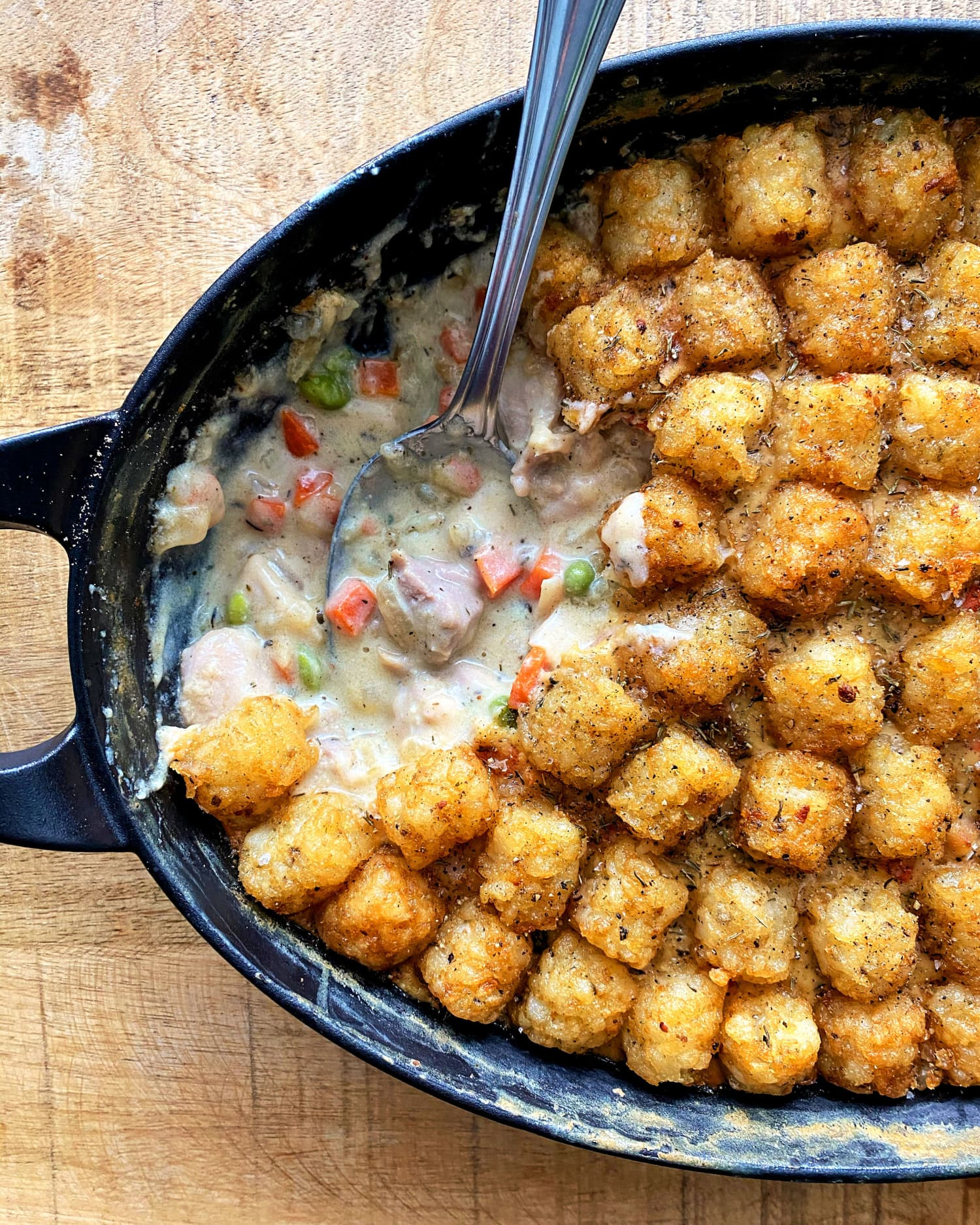 Molly Yeh's Chicken Pot Tot Hot Dish Is My Definition of Comfort Food