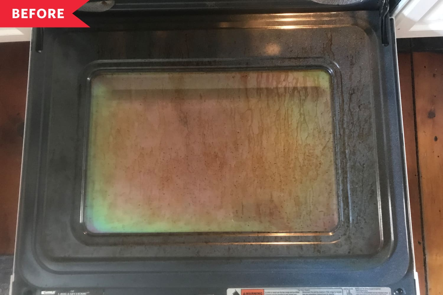 I Cleaned My Oven Door with the British Cleaning Paste That's All Over TikTok