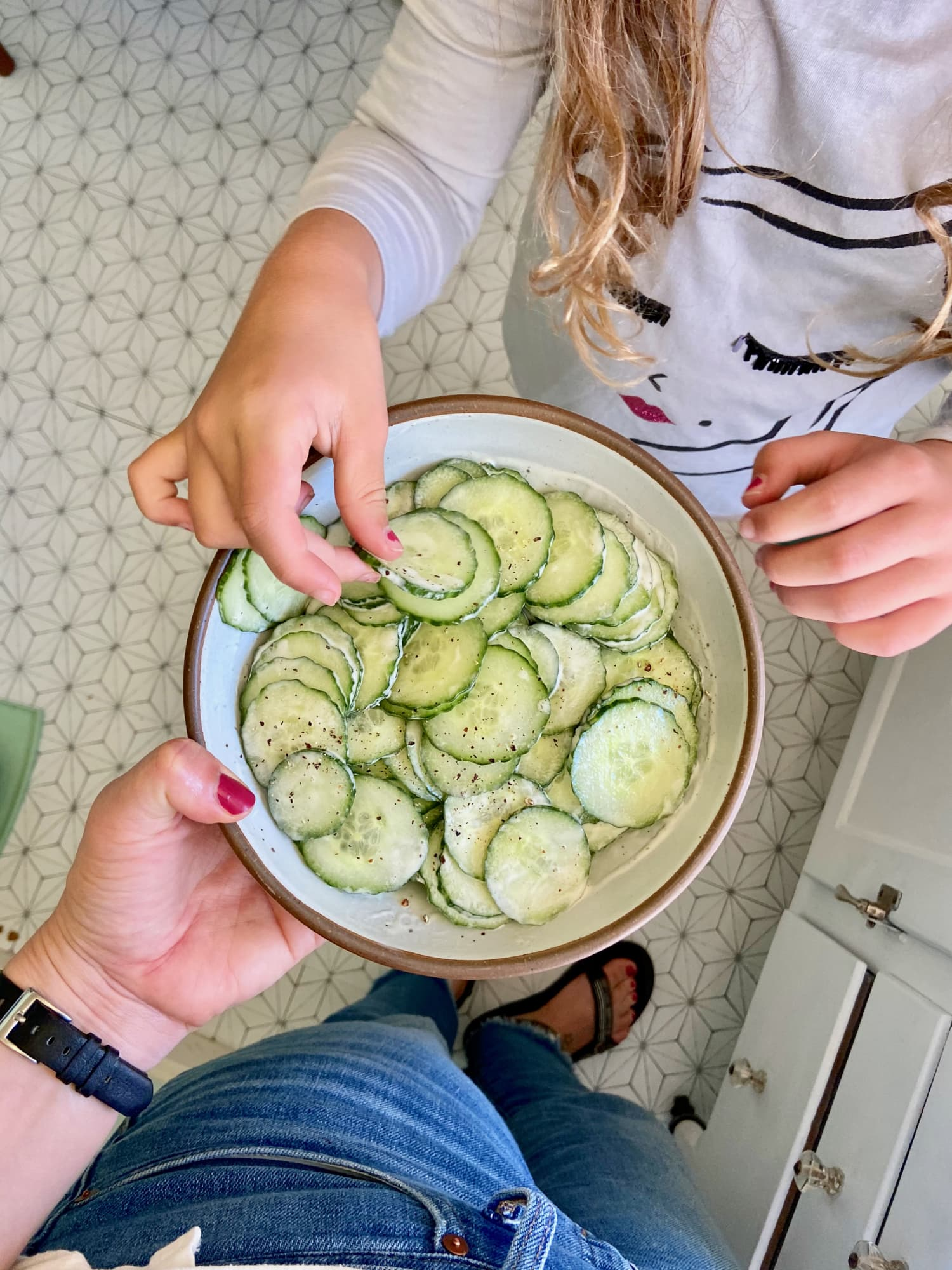 My Family's Favorite Cucumber Salad Is Basically an Excuse to Eat More Ranch