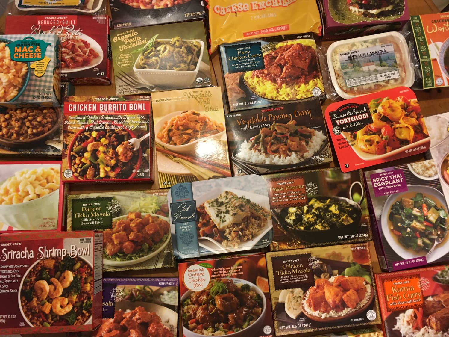 We Tried 30 Different Frozen Dinners at Trader Joe's. Here Are the Best 5.