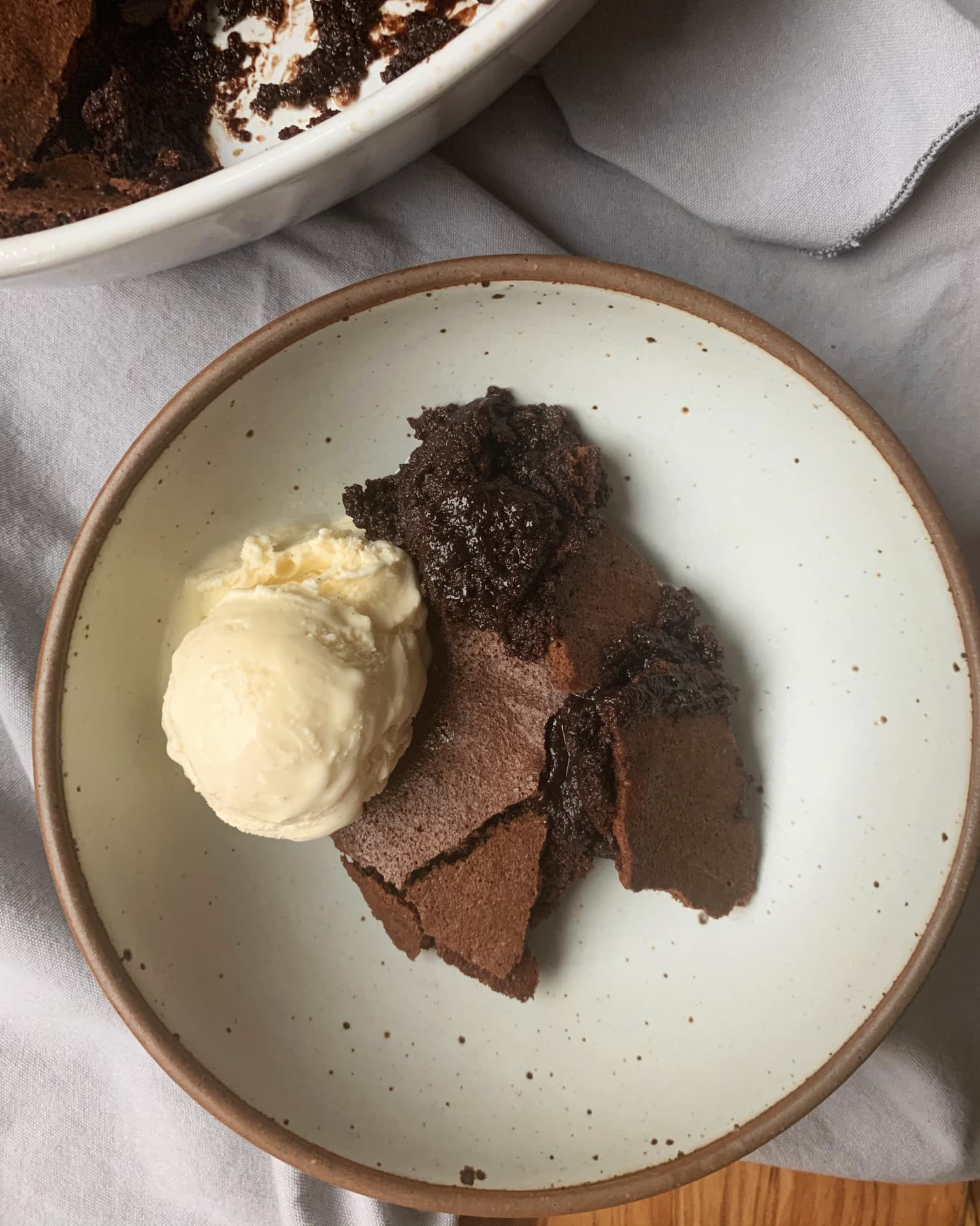 Ina Garten's Crispy-Gooey Brownie Pudding Is for Brownie-Lovers Who Want It All